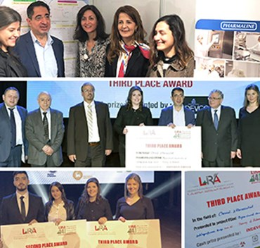 Pharmaline and University of Balamand Project wins at LIRA Forum