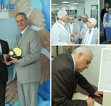 Lebanese Minister of Health Tours Pharmaline Manufacturing Site